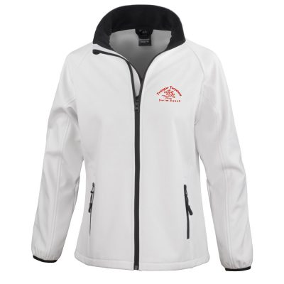 Torpedoes Soft Shell Womens Jacket White