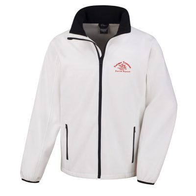 Torpedoes Soft Shell Mens Jacket White