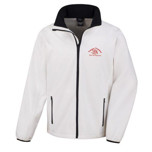 Torpedoes Soft Shell Mens Jacket White
